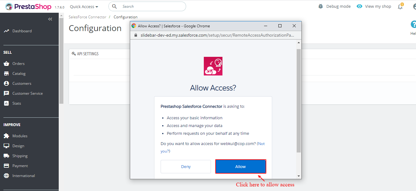 Access-Page