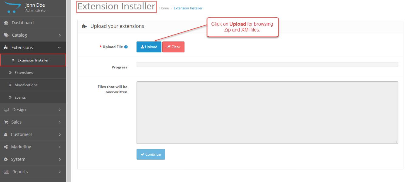 Extension-Installer