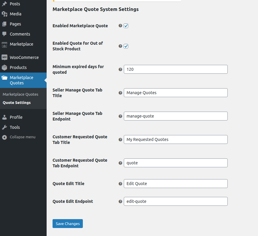webkul-woocommerce-marketplace-quote-system-quote-settings