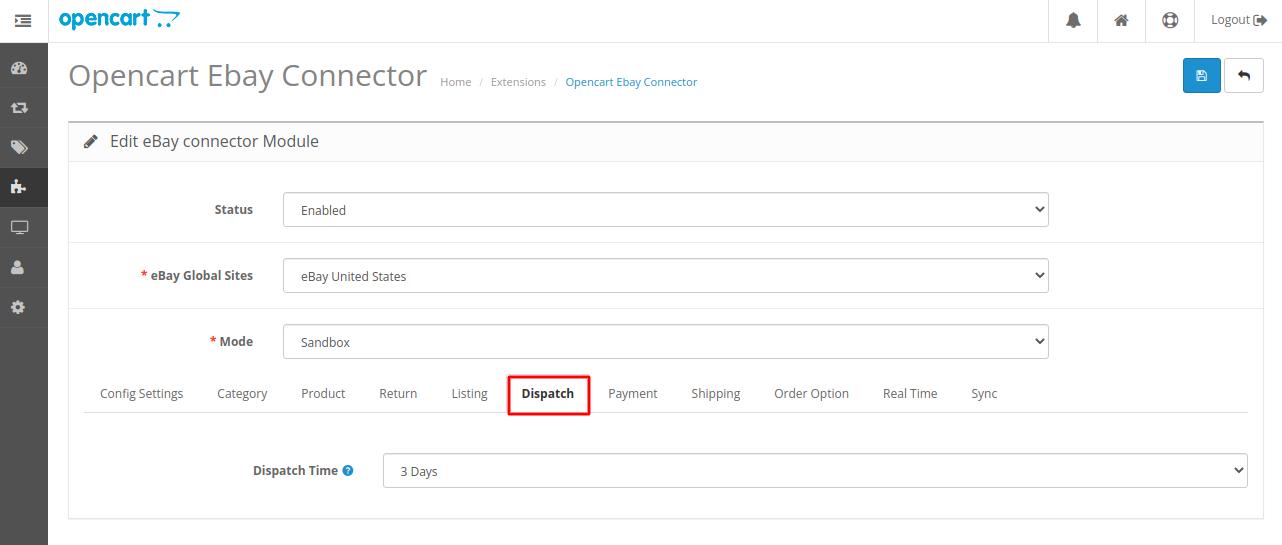 Webkul-opencart-ebayconnector-import-dispach