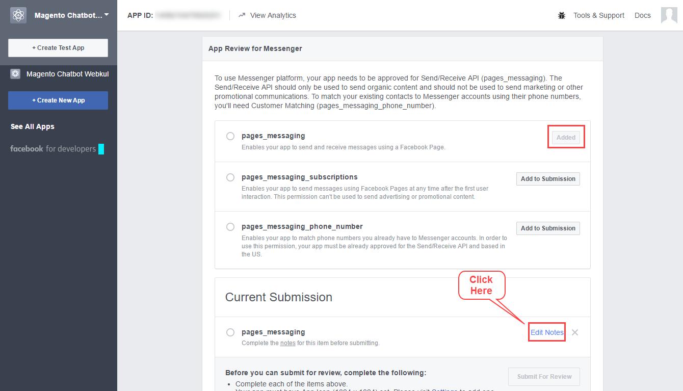 webkul-facebook-chatbot-create-app