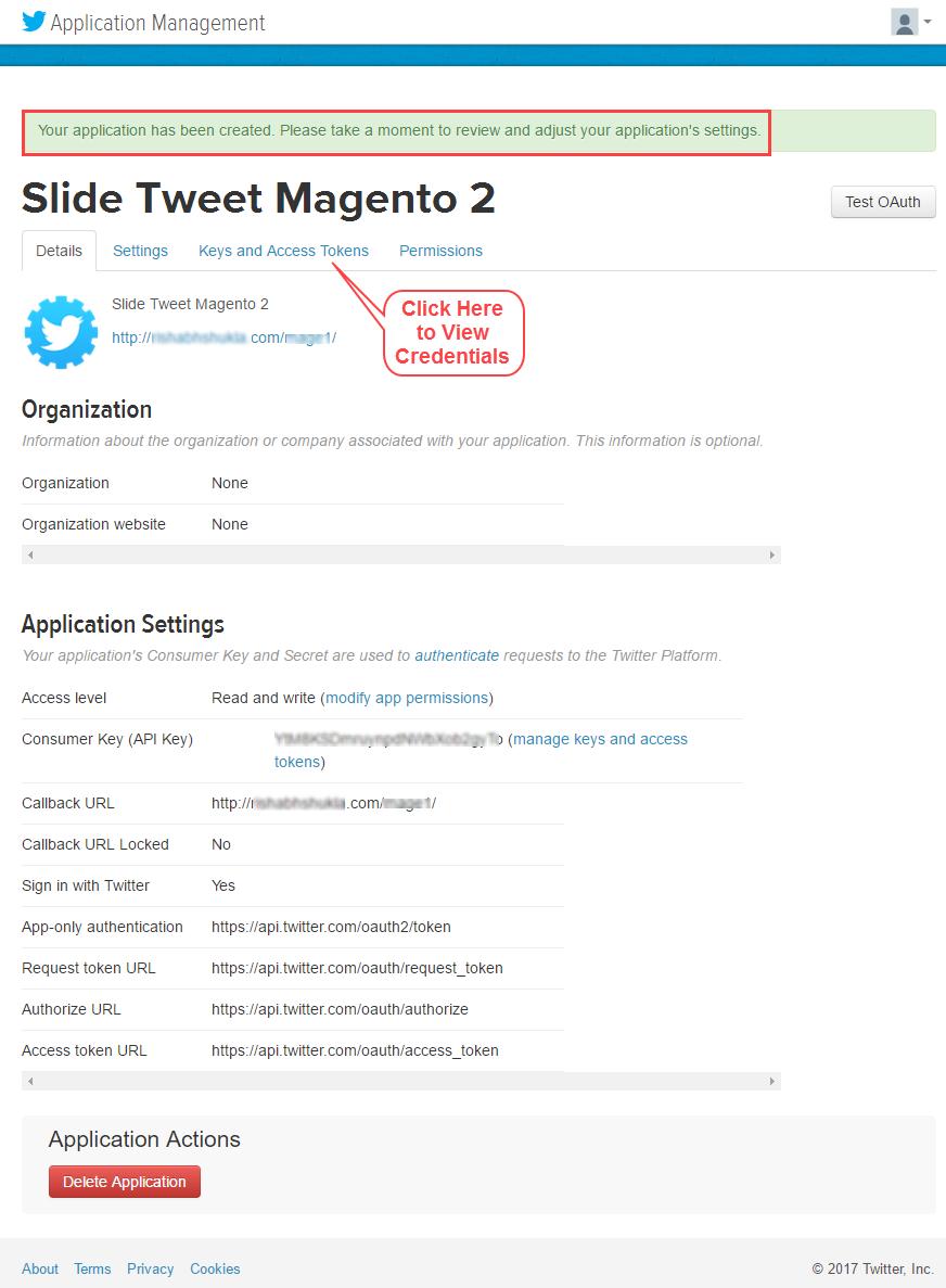 Slide Tweet