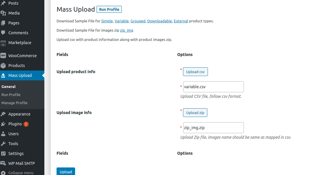 Product-and-image-upload