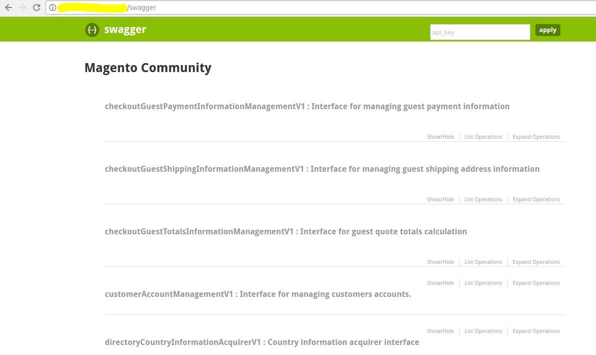 Magento2 RESTful API with Swagger UI - Webkul Blog