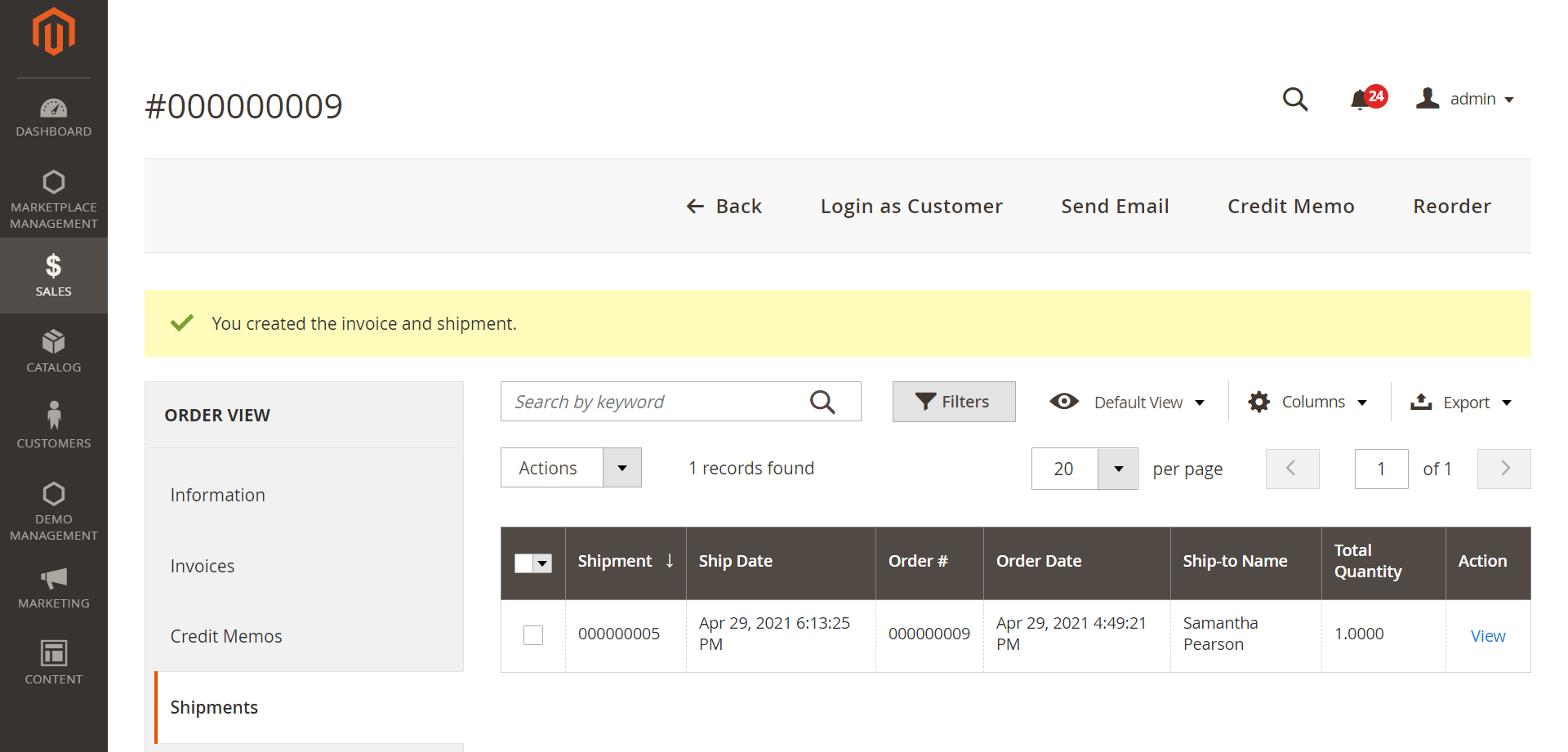 Shipment-Orders-Operations-Sales-Magento-Admin
