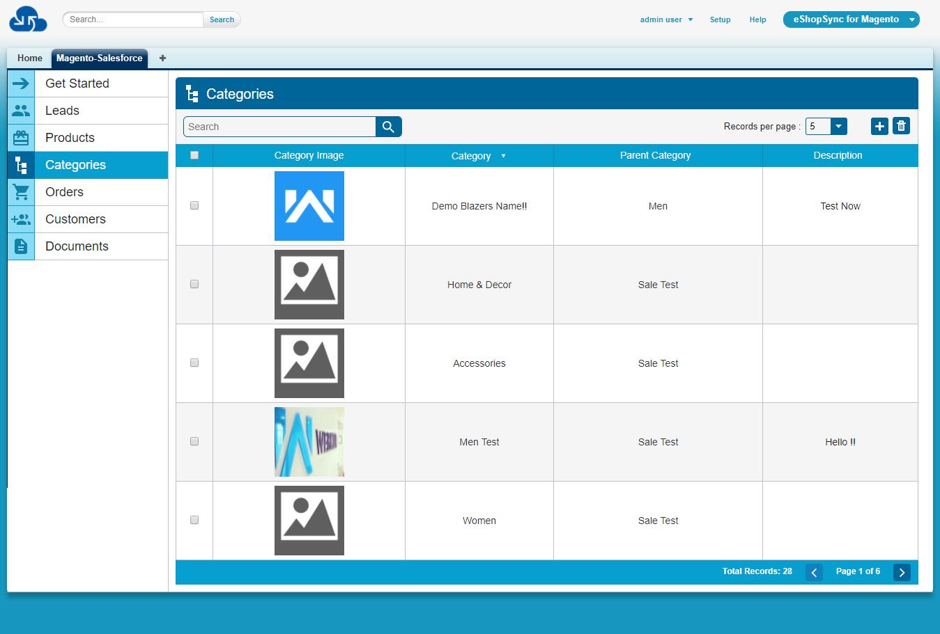 Magento Salesforce Connector