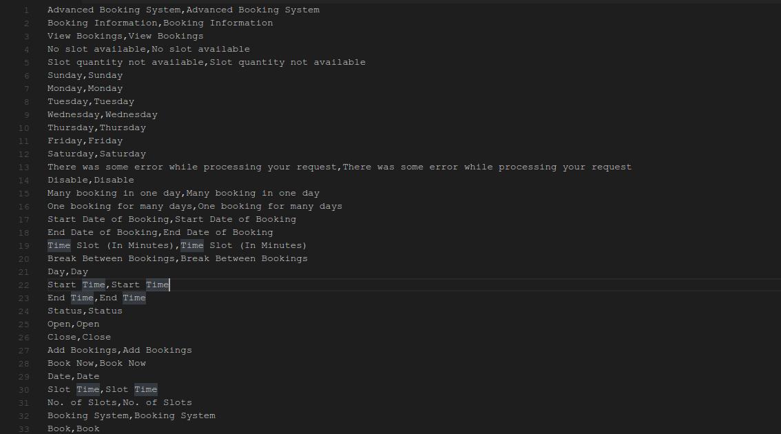 CSV file Magento 2 Rental Extension