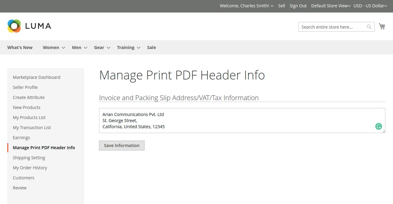 webkul-magento2-marketplace-correios-shipping-manage-print-pdf-header-info