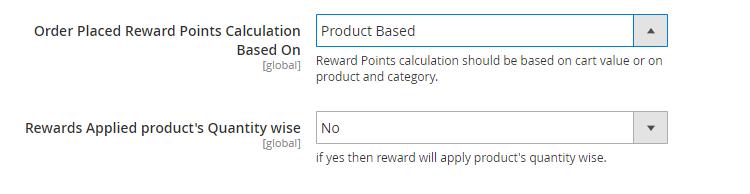 Reward-points-MODULE CONFIGURATION