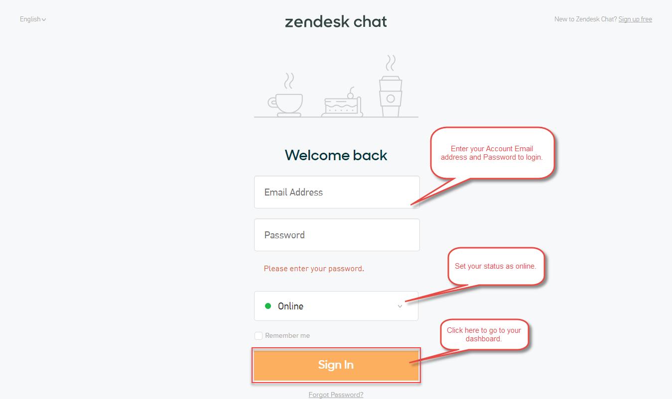 Zopim-Zendesk-Live-Chat-Login-Page