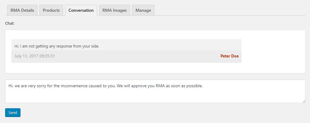 Marketplace Product RMA