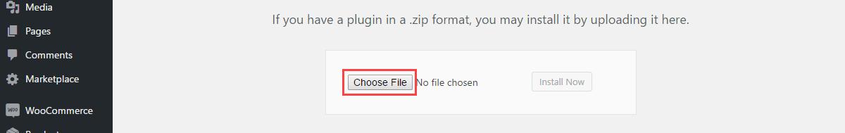 PayUmoney Payment Gateway-installation choose file
