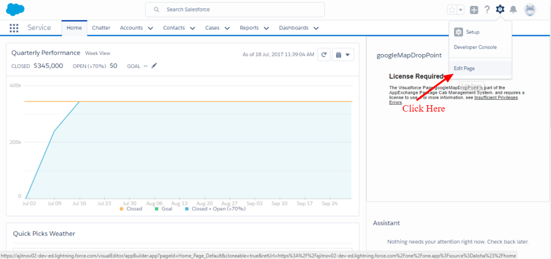 Smart Weather Forecaster Lightning Component Salesforce