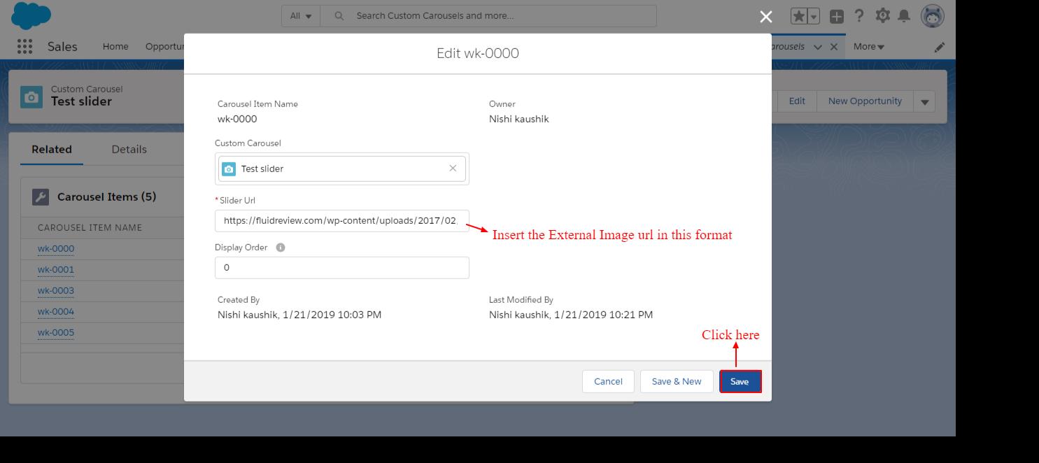 Super Slider Lightning Component | Salesforce Images and