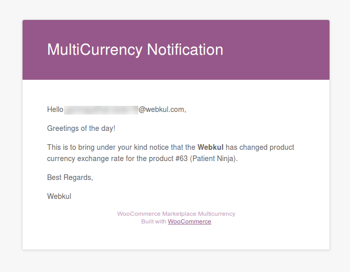 Woocommerce Marketplace Multi Currency