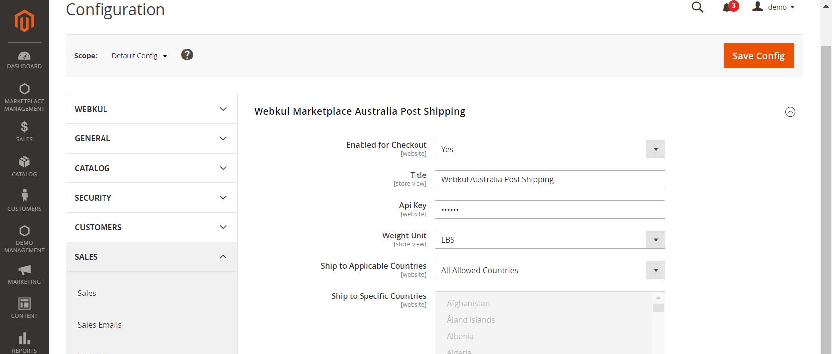 webkul_Magento-2-Marketplace-Australian-Post-Shipping_admin_configuration_11