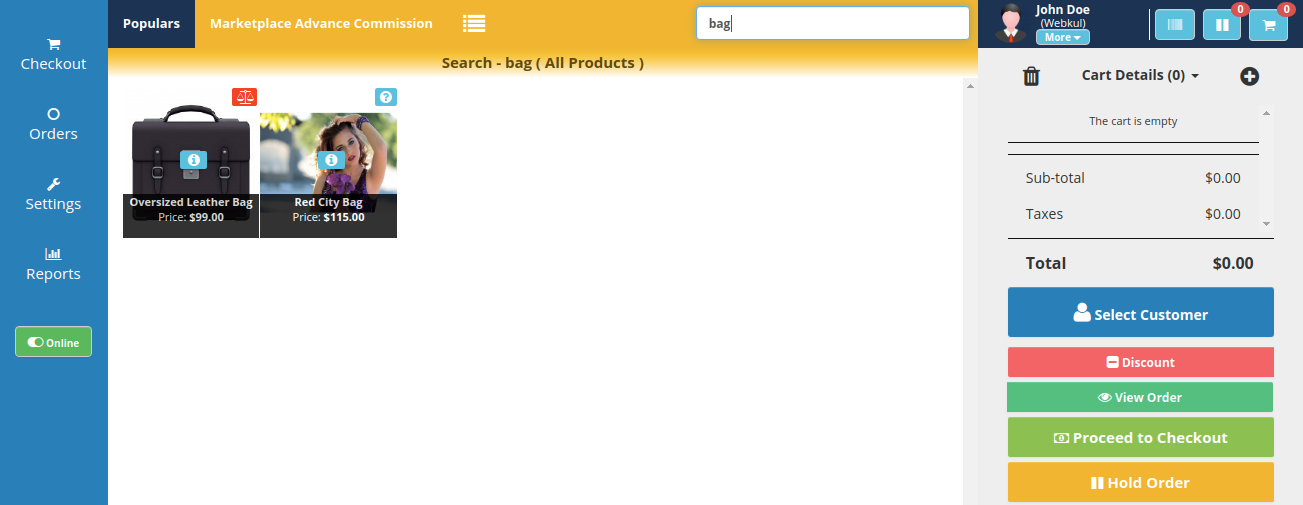 webkul-opencart-easy-product-search