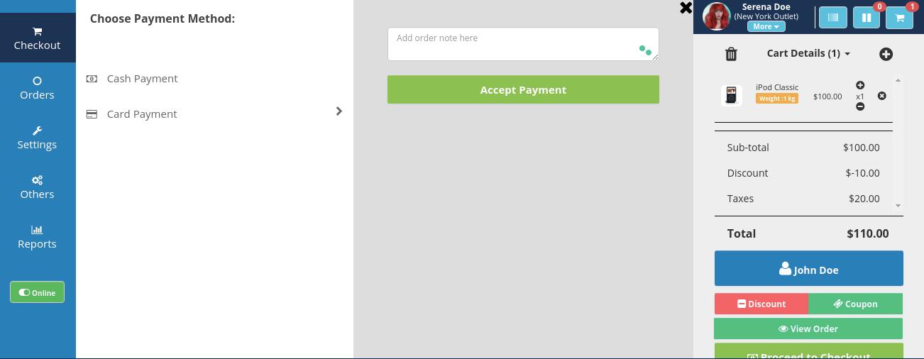 webkul-opencart-pos-admin-additional-payment-method-card-swipe