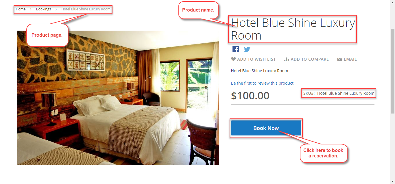 Magento 2 Rental Extension_Front End Usage One booking for many days.