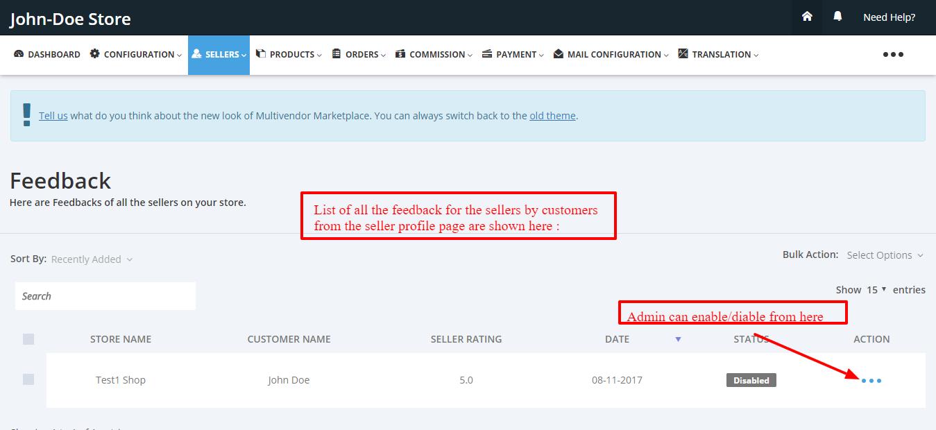 Feedback Multivendor Marketplace for Shopify by Webkul