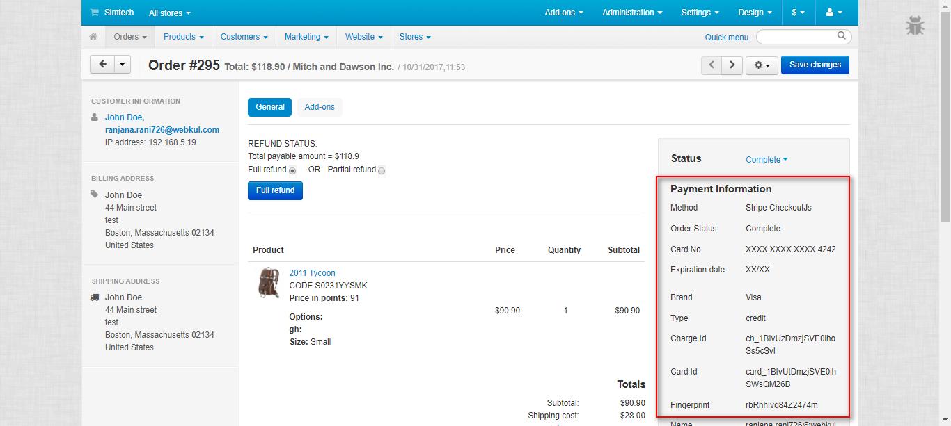 CS-Cart Stripe Payment Gateway | Sofort, Giropay, Bancontact