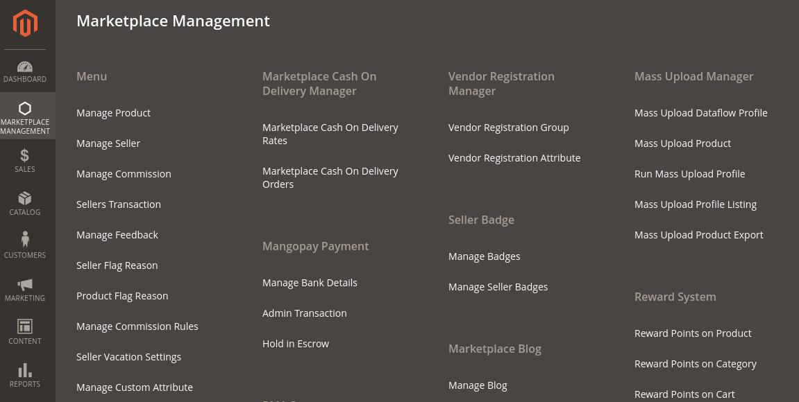Manage seller admin login as vendor