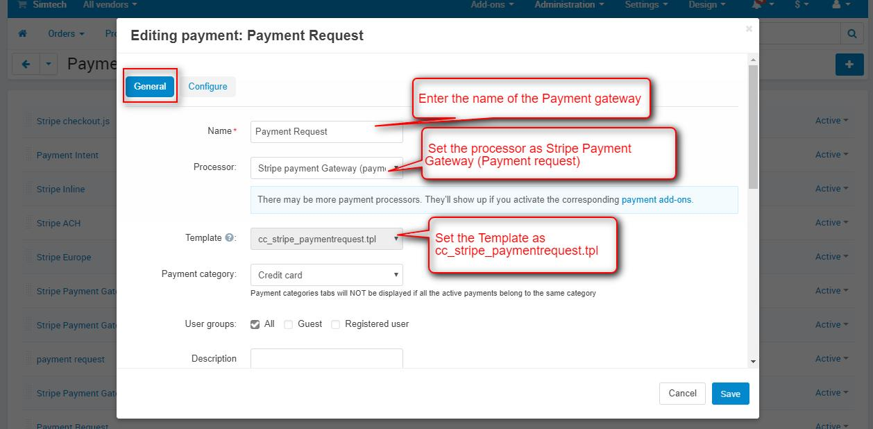 payment request payment gateway