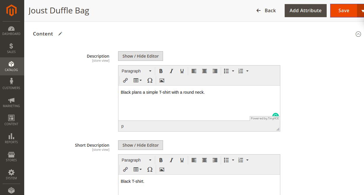 Magento2-akeneo-connector-content-descriptions