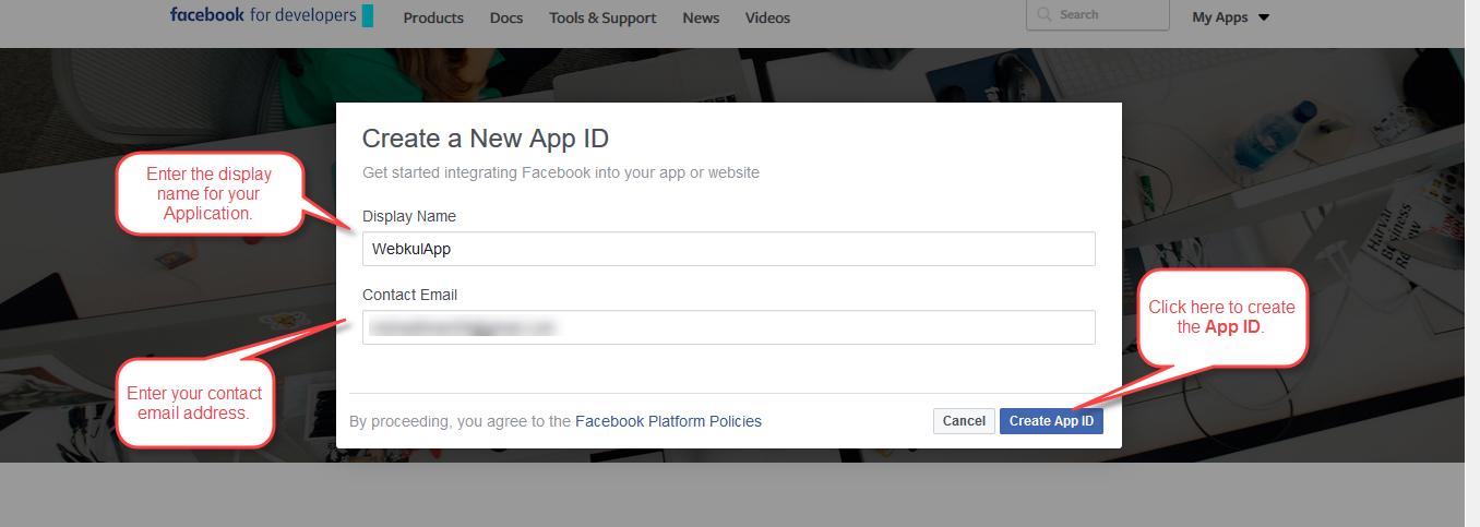 FaceBook App 4