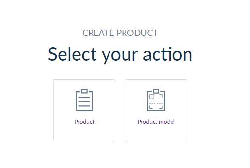 Select the product type