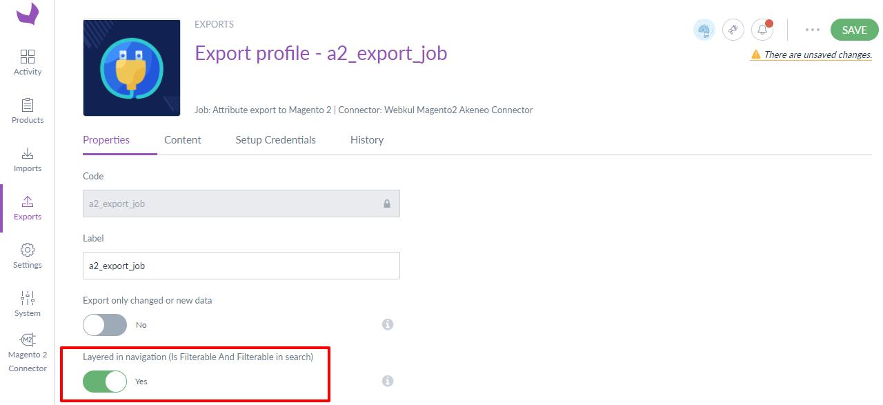 export job 2