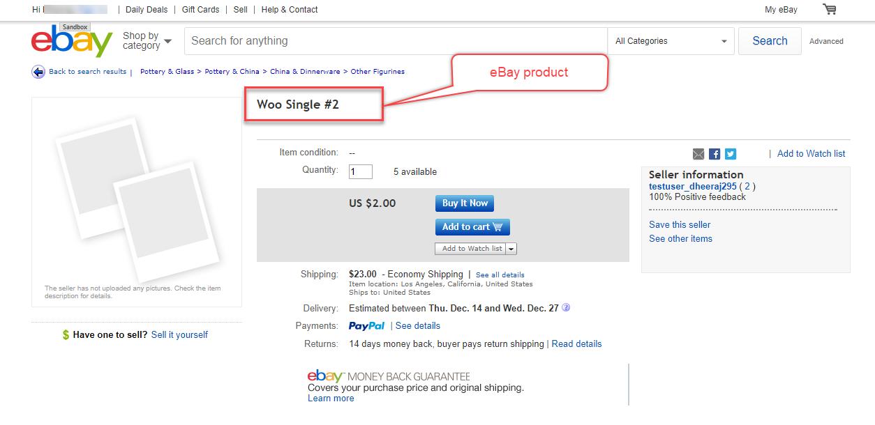 WooCommerce eBay Connector Plugin