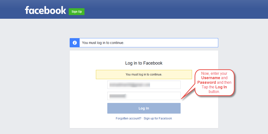 FaceBook App 2
