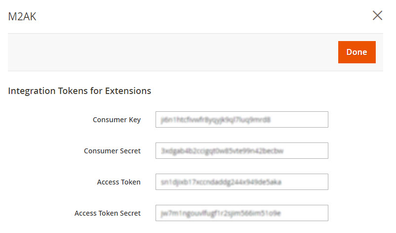 Tokens Created