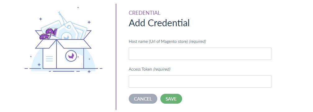 add credentials