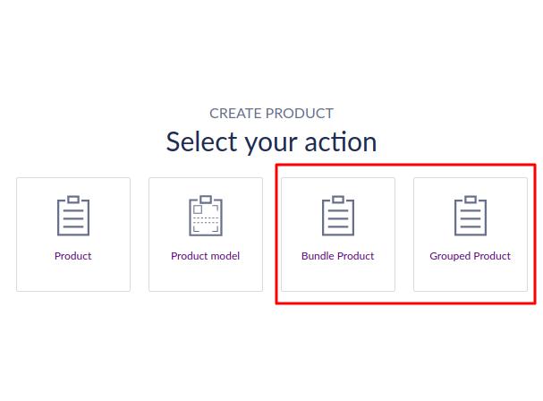 Akeneo Bundle and grouped product add-on