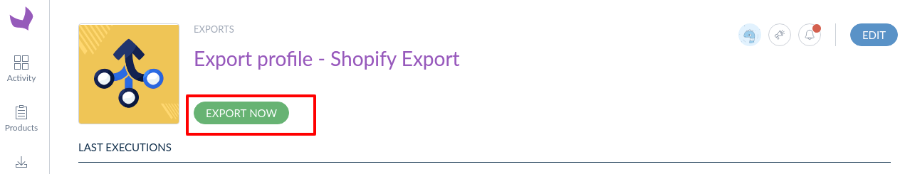 Export-profile-Shopify-Export-Show