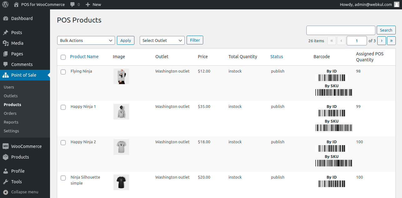 generate product barcode