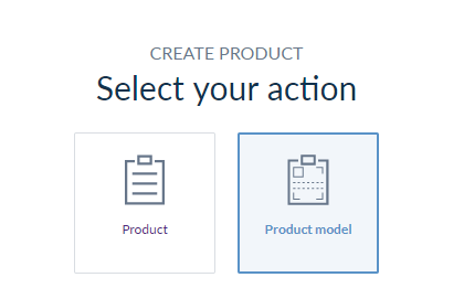 select product model