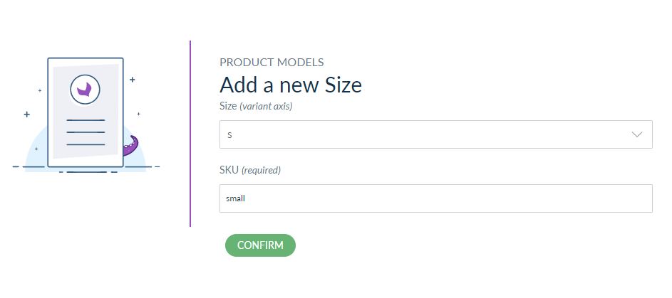 add variation product