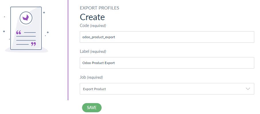 odoo export product job