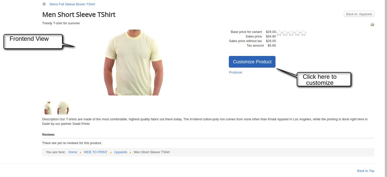 Joomla Virtuemart Web To Print Easy To Customize