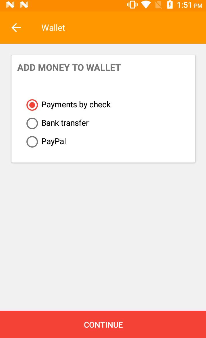 Opencart Mobikilul Wallet - Add Money To Wallet