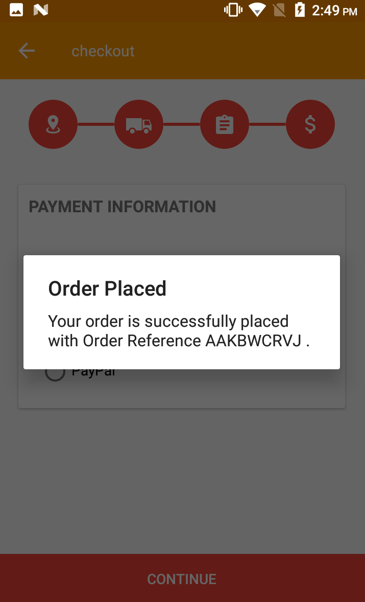 Opencart Mobikilul Wallet - Order Placed Option