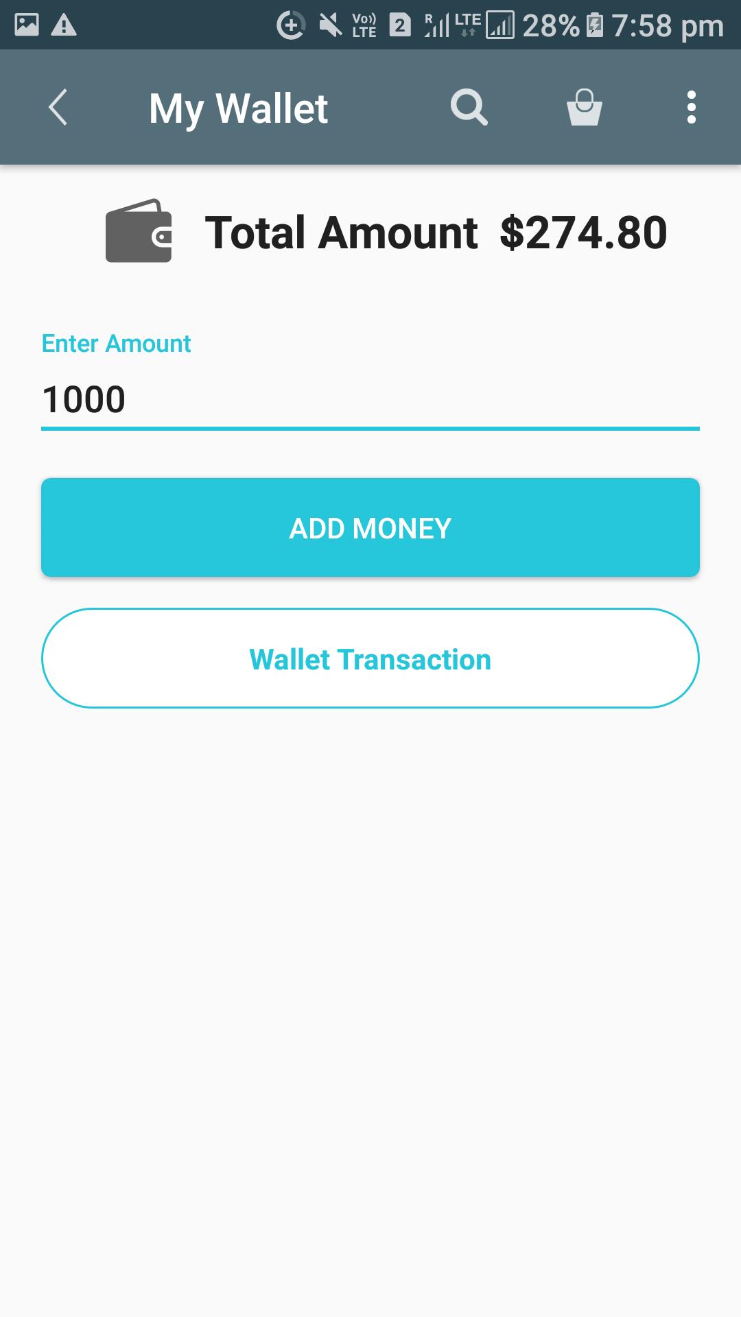 Opencart Mobikilul Wallet - Add Money to Wallet Process
