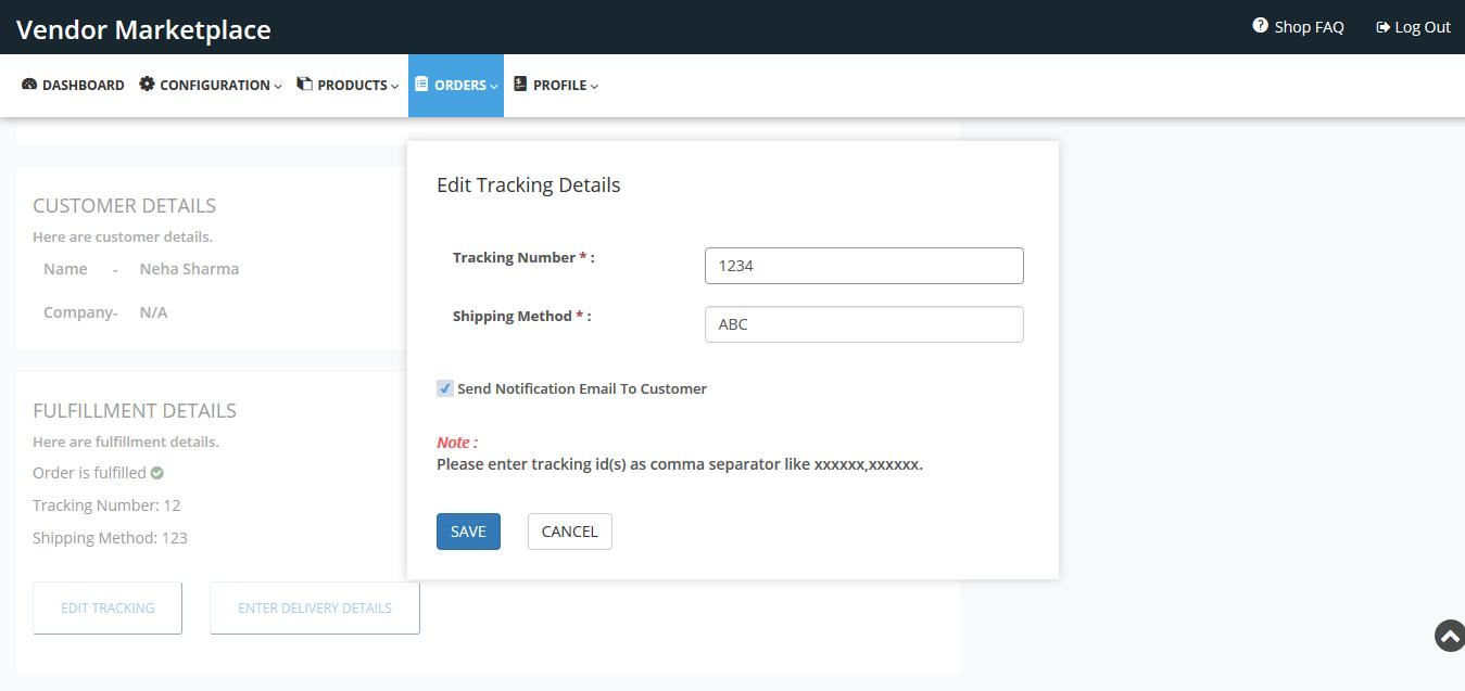 edit tracking