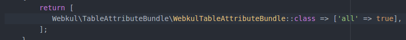 table-attribute