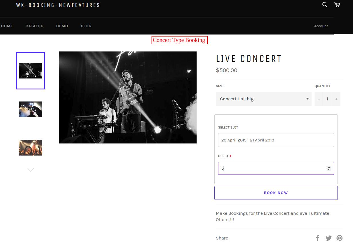 Live Concert – wk booking newfeatures (1)