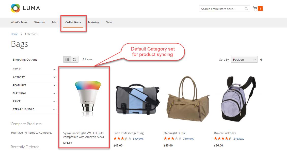 Magento 2 Marketplace Amazon Connector