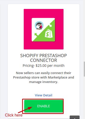 PrestaShop connector